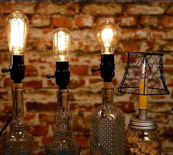 Mason Jar Lamp Kit For Hanging Pendant Light Vintage Lighting Christmas Gift For Her Hanging Lamp Hardware