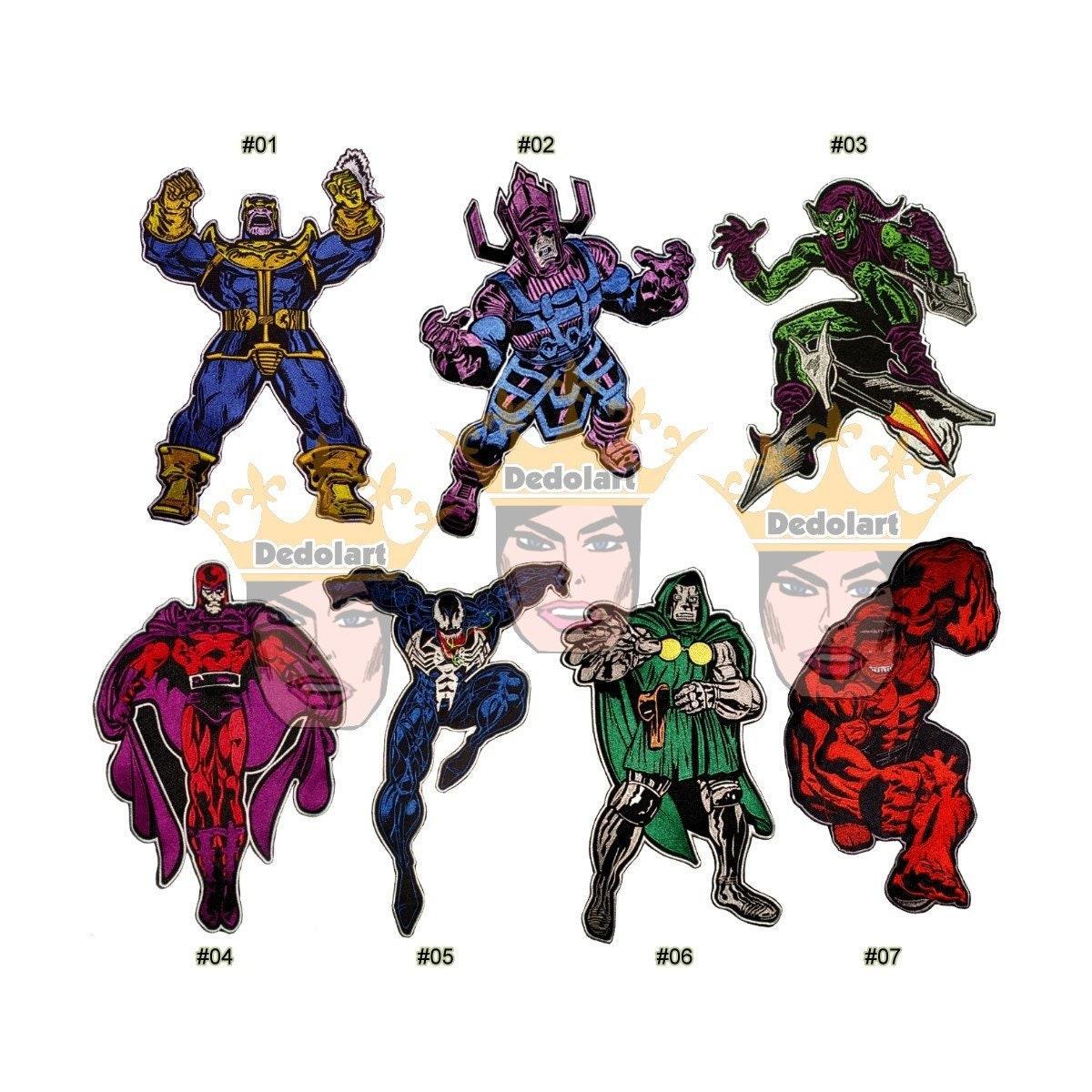 Marvel Schurken Liste