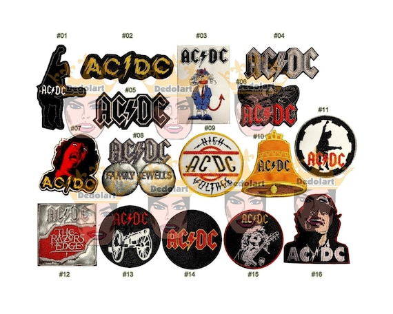 Embroidered Small Patch NEW RAZOR Band Logo
