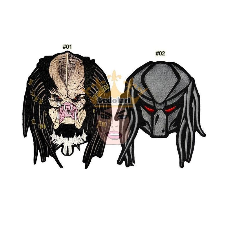 AVP Aliens vs Predator Logo Embroidered Patch