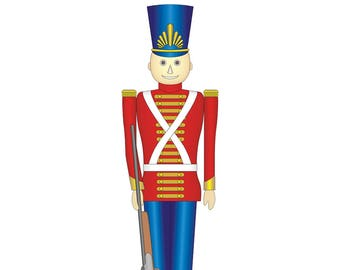 Toy Soldier Cardboard Cutout