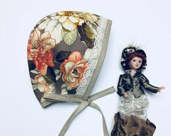 Baby bonnet.Bonnet for girl.