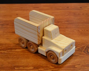 Handcrafted Dump Truck