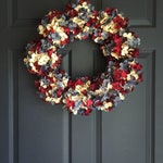 SPECTACULAR Red White Blue Wreath | 4th of July Wreath | Independence Day Decor | Patriotic Wreath | Hydrangea Wreath | Summer Wreaths