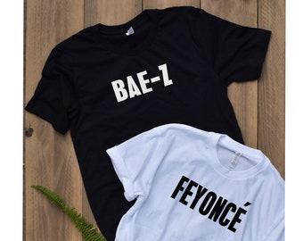 b477eb39 BAE-Z shirt / FEYONCE top / feyonce tank / BAE-Z tee / bride to be shirt /  future Mrs. shirt / wedding gifts / engagement shirt