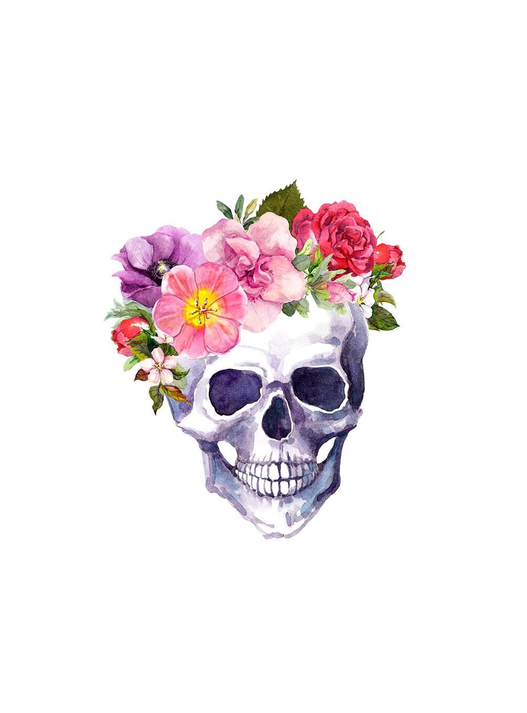 Boho sticker bohemian sticker boho skull skull with etsy 50 izmirmasajfo
