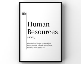 Human Resources Etsy