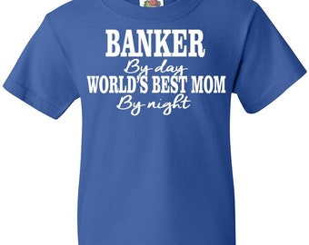 Banker Mom: Youth Tee