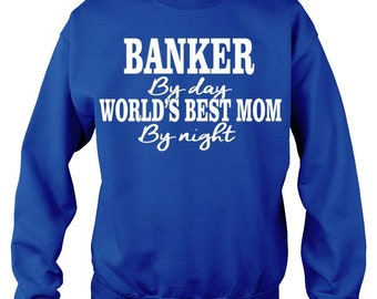 Banker Mom: Adult Crewneck Sweat Shirt