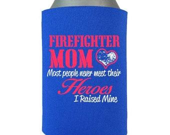 Firefighter Gift Mom, Firefighter Love, Fireman Mom Gift, Mother Day Gift, Gift for Her,  Can Wrap