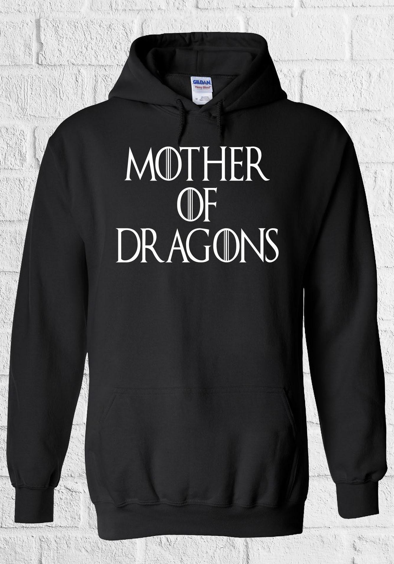 Mother of Twin Dragons Maternity Twin of Men Women Unisex Top Hoodie Sweatshirt 1091 1443ee