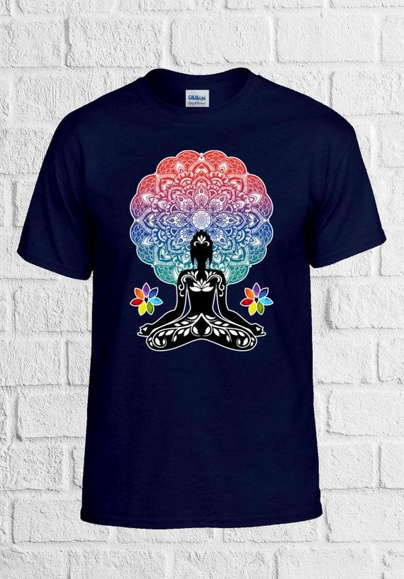 Aztec Yoga Buddha Chakra Meditation Zen Peace Men Men Peace Women Vest Tank Top Unisex T Shirt 1516 e3a252
