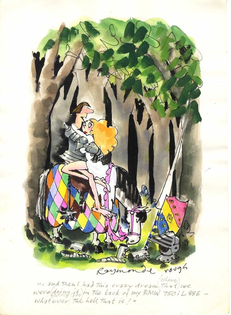 Preliminary Roy Raymonde Playboy Cartoon image 0
