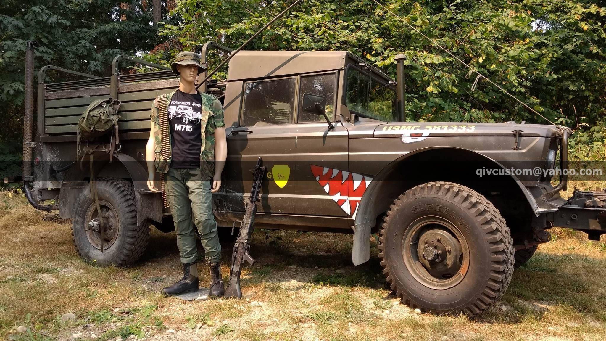 Kaiser Jeep M715 T-shirt | Etsy