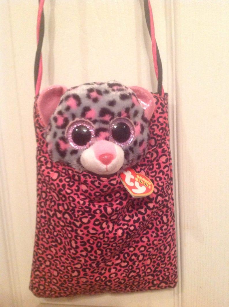 4e19c339ff Beanie Boo Purse Valentine kids purse Compact Purse Beanie Boo | Etsy