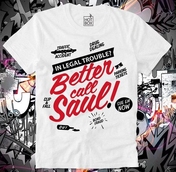 BETTER CALL SAUL Funny Heisenberg T-shirt Breaking Bad Long Sleeve Tee