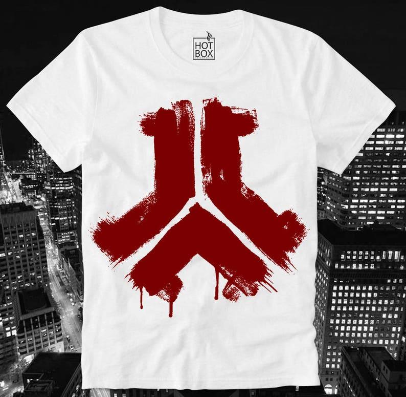 0e3088b2e5aa T Shirt HOTBOX Defqon Q Dance Hardstyle Techno Grunge Logo