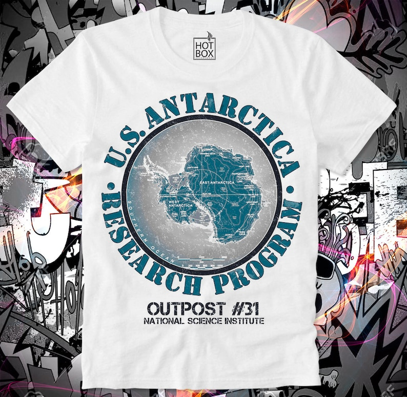 c10f657df02f1 T Shirt HOTBOX The Thing Game Gamer Outpost 31 Antarctica US John Carpenter