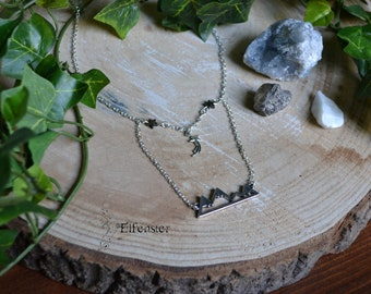 Mountain Court necklace| The Night Court | Fae | Bookish jewelry