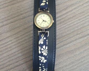 Montre bracelet vintage type bracelet de force