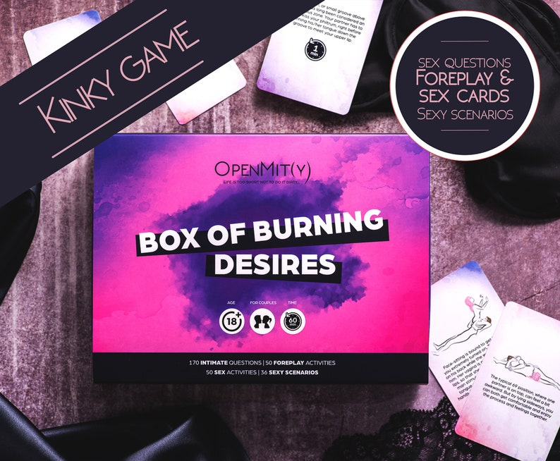 Sexy Game with Erotic Paintings. Box of Burning Desires. image 0