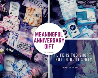 Anniversary gift for husband, meaningful gifts for men who have everything, gift for him or her