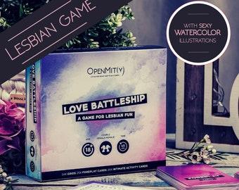 Lesbian Wedding Gift Game for Gay Girlfriend Couples, Lesbian Gift for Girlfriend