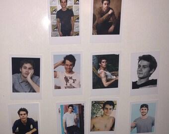 Dylan O'Brien Polaroids Set of 10 mini vintage style