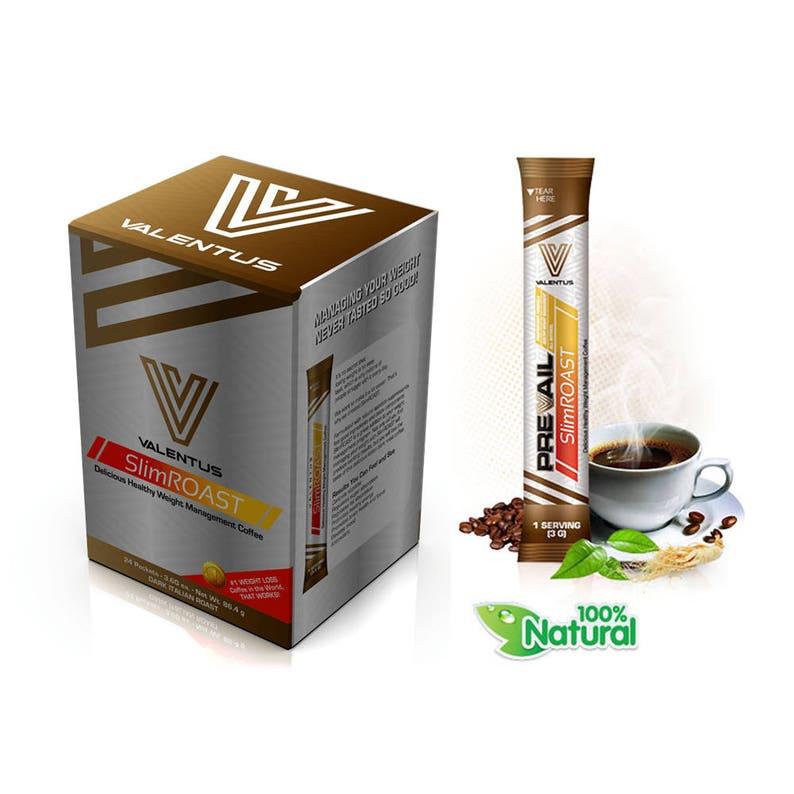Valentus Slimroast Slimming Weight Loss Coffee Italian Dark Roast Free P P