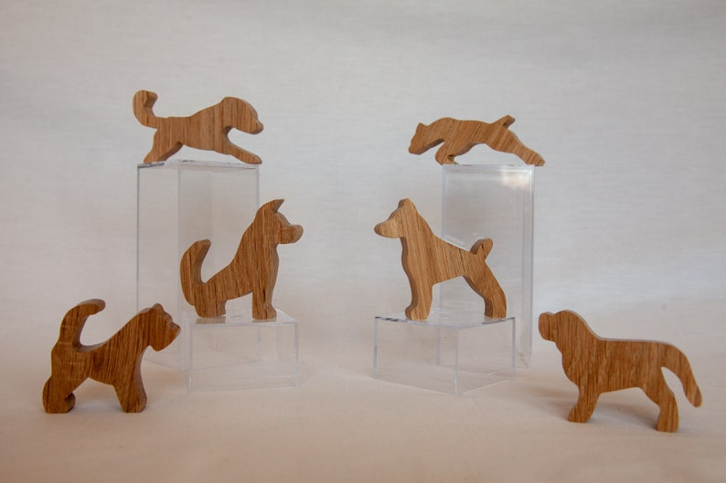 Wood dog puzzle wooden balancing dogs wood animals balancing puzzle scroll saw toy. Unique puzzle challenging puzzle