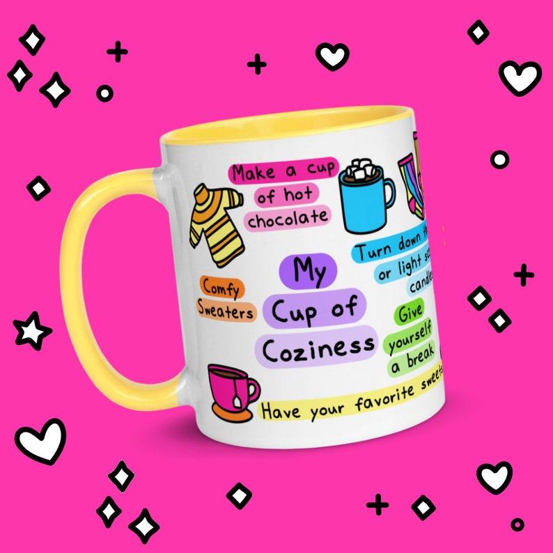 My Cup of Coziness  11oz Mug  Self-Care Gifts  Hygge image 0