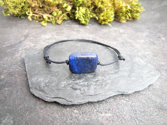 Lapis Lazuli BraceletAmazonite BraceletThroat ChakraGemstone Bracelet