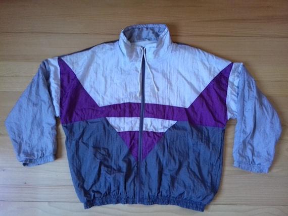 408910ed70d8 1990s Vintage Bomber Jacket Windbreaker   Hip Hop   Rap