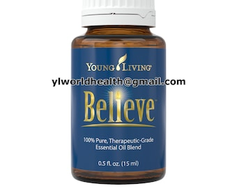 Believe Essential Oil 15mL; Young Living Theraputic Grade; full sized bottle; brand new never opened