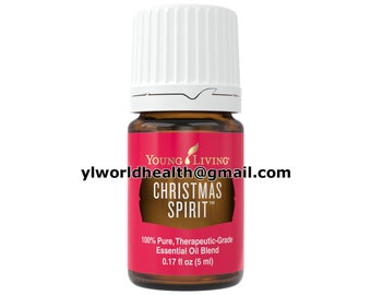 christmas spirit essential oil 5ml young living therapeutic grade new full size - Young Living Christmas Spirit