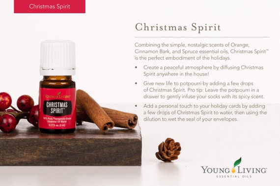 Young Living Christmas Spirit.Young Living Christmas Spirit Essential Oil Blend Sample 1ml 1 5ml 2ml 3ml Sample