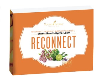 Young Living Reconnect Collection; includes 5mL bottles of GeneYus, InTouch, Reconnect, and SleepyIze