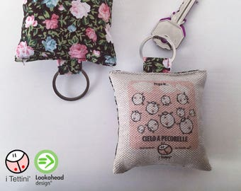 Sky Keychain to pink sheep, the Roofs ®