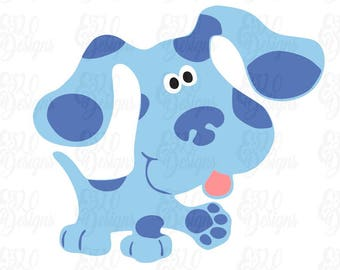 Blues Clues Dog SVG DXF Digital File