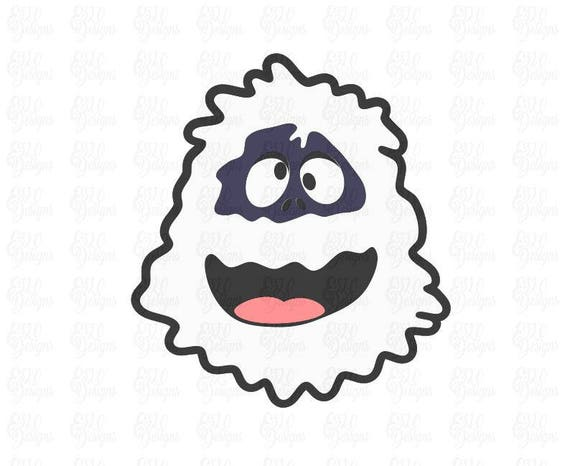 Bumble The Abominable Snow Monster Svg Dxf File Etsy