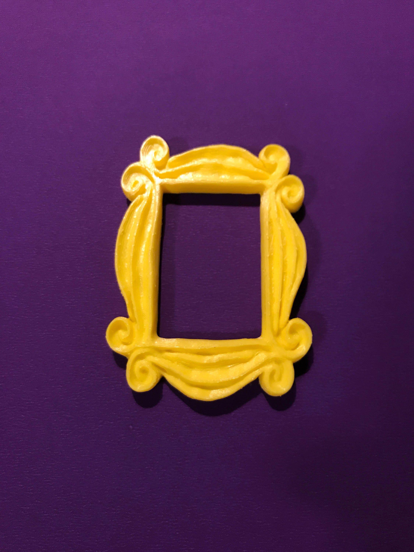 Friends tv show frame friends peephole frame friends yellow