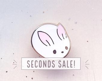 SECONDS SALE Bunny Bun Enamel Pin