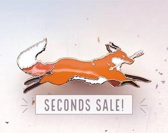 SECONDS SALE Fox Thief Pin