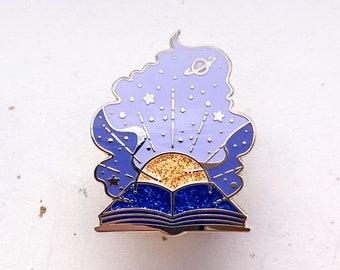 Starry Teller Enamel Pin