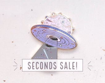 SECONDS SALE Space Crafter Needle Minder