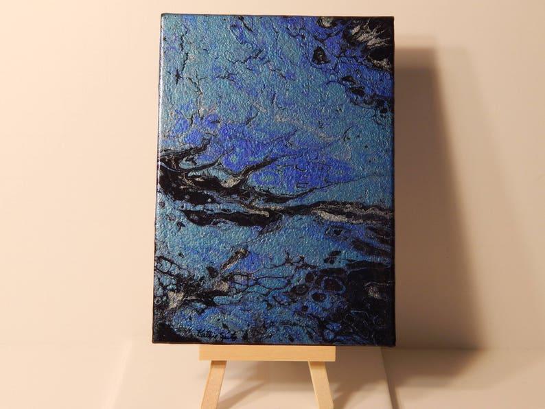 Fairy Tale Marsh Fluid Art Painting