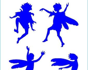 512 Fairy Shadows stencil
