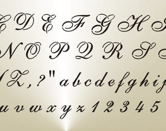 all cursive letters etsy your place to buy and sell all things handmade 20427 | il 340x270.1385422765 eqc6