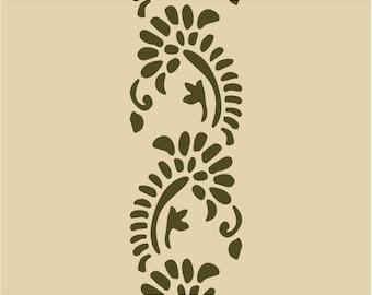 560 Floral Lace stencil
