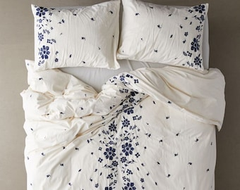Pin on Embroidered duvet cover